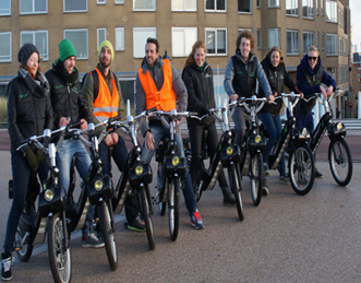 eco solex tour Hoek van Holland